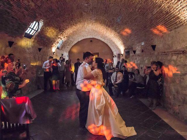 La boda de Alfonso y Esther en Lupiana, Guadalajara 48