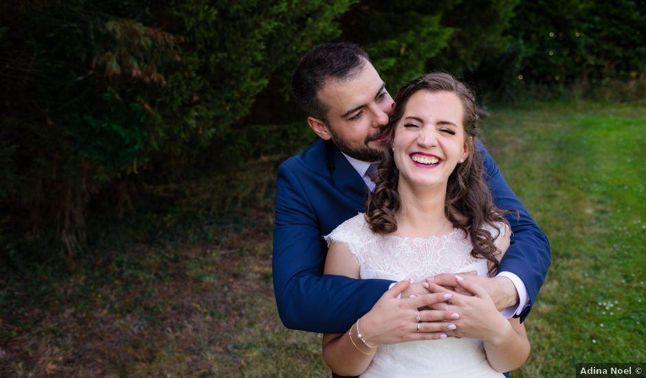 La boda de Jon y Judit en Quejana, Álava