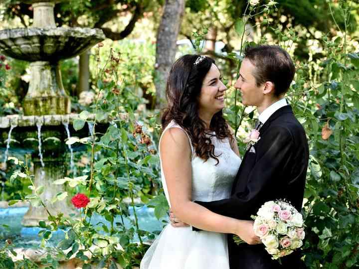 La boda de Cristina y Rodri
