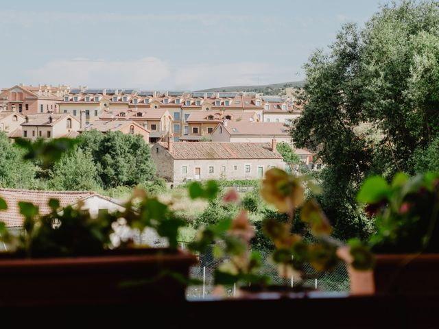 La boda de Rubén y Susana en Sotosalbos, Segovia 1