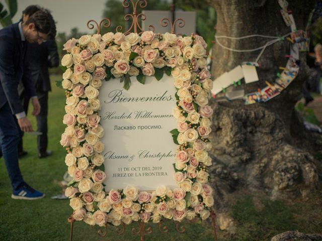 La boda de Christopher  y Oksana  en Jerez De La Frontera, Cádiz 3