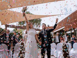 La boda de Marta y Abraham