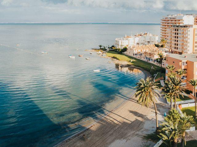 La boda de Pablo y Romi en La Manga Del Mar Menor, Murcia 22