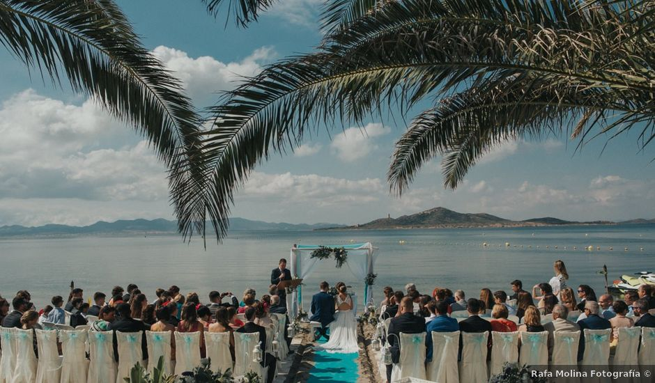 La boda de Pablo y Romi en La Manga Del Mar Menor, Murcia