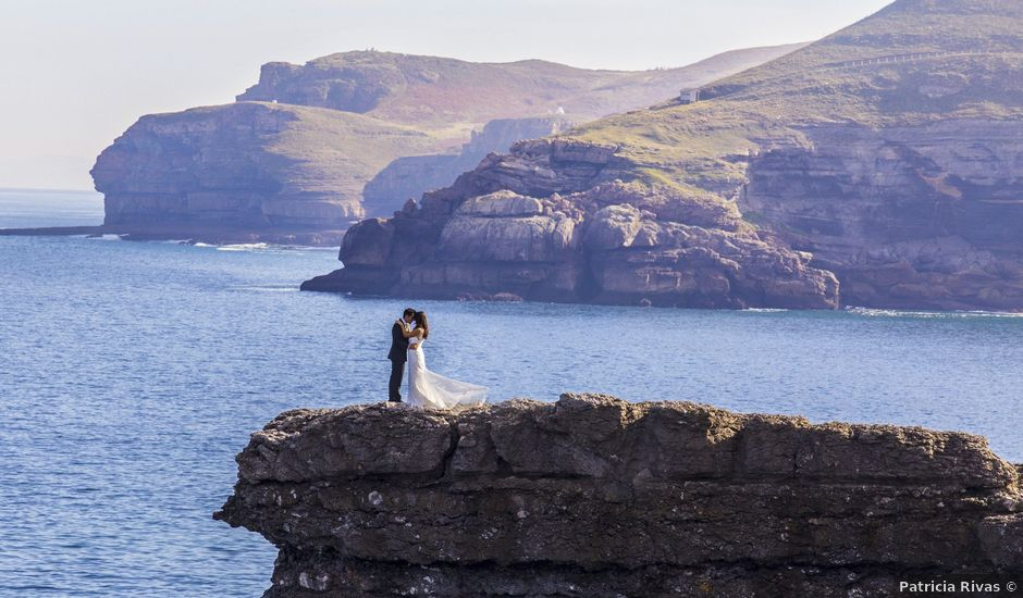 La boda de Elena y Roberto en Mogro, Cantabria