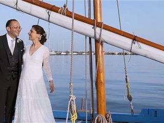La boda de Susana y vincenzo