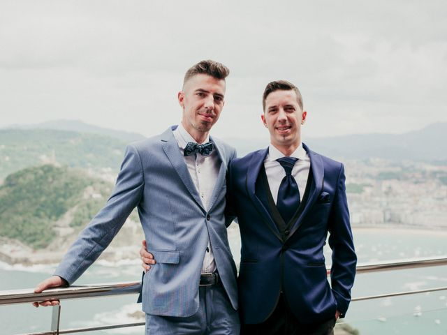 La boda de Pablo y Lucía en Donostia-San Sebastián, Guipúzcoa 283