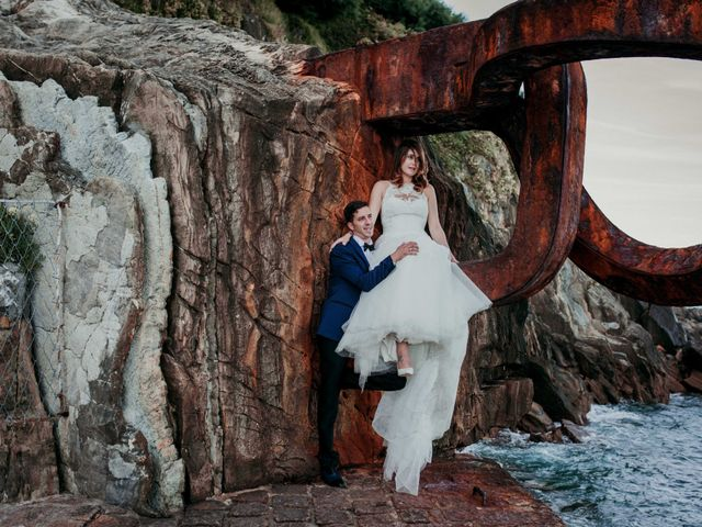 La boda de Pablo y Lucía en Donostia-San Sebastián, Guipúzcoa 513