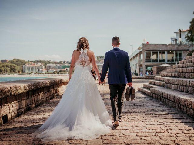 La boda de Pablo y Lucía en Donostia-San Sebastián, Guipúzcoa 523