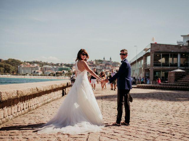 La boda de Pablo y Lucía en Donostia-San Sebastián, Guipúzcoa 524