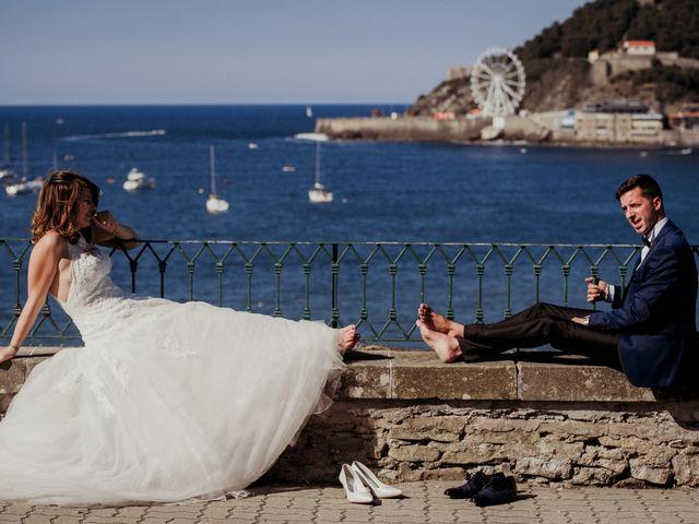 La boda de Pablo y Lucía en Donostia-San Sebastián, Guipúzcoa 540