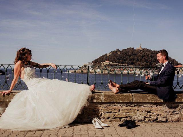 La boda de Pablo y Lucía en Donostia-San Sebastián, Guipúzcoa 542