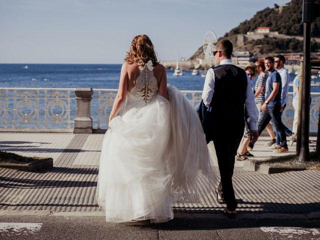 La boda de Pablo y Lucía en Donostia-San Sebastián, Guipúzcoa 590