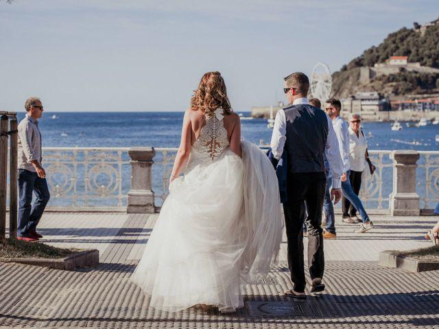 La boda de Pablo y Lucía en Donostia-San Sebastián, Guipúzcoa 591