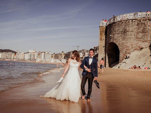 La boda de Pablo y Lucía en Donostia-San Sebastián, Guipúzcoa 593