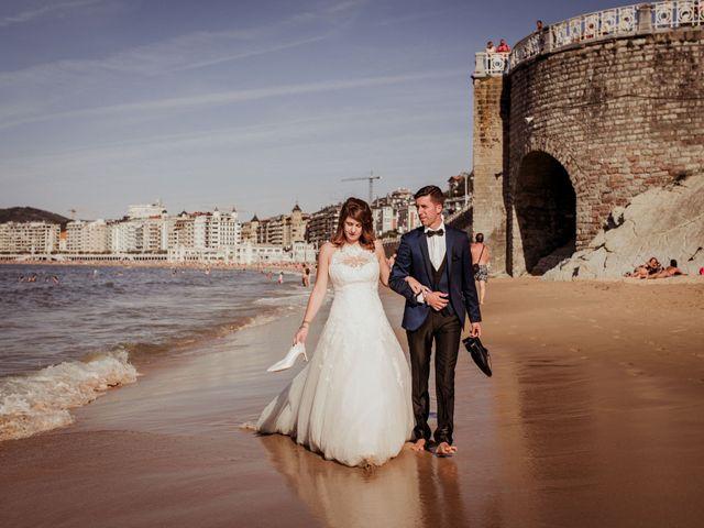 La boda de Pablo y Lucía en Donostia-San Sebastián, Guipúzcoa 594