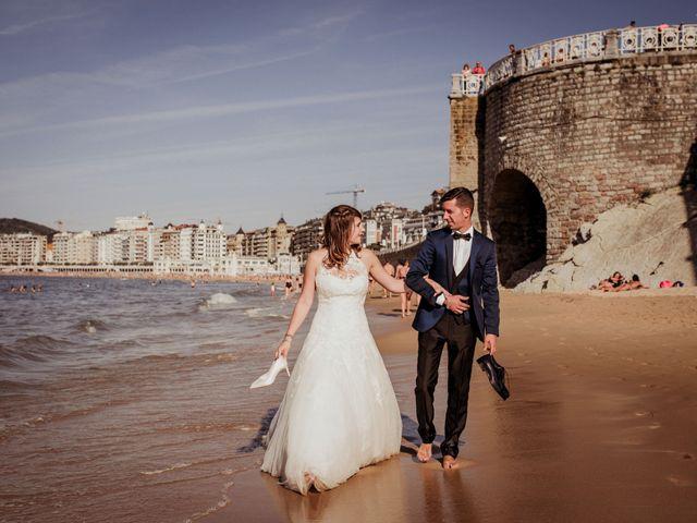 La boda de Pablo y Lucía en Donostia-San Sebastián, Guipúzcoa 596