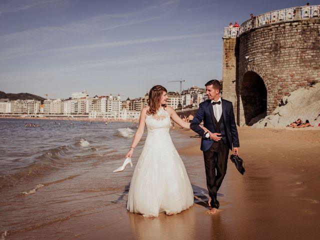La boda de Pablo y Lucía en Donostia-San Sebastián, Guipúzcoa 597