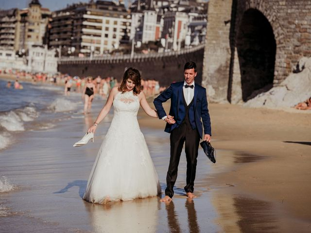La boda de Pablo y Lucía en Donostia-San Sebastián, Guipúzcoa 600