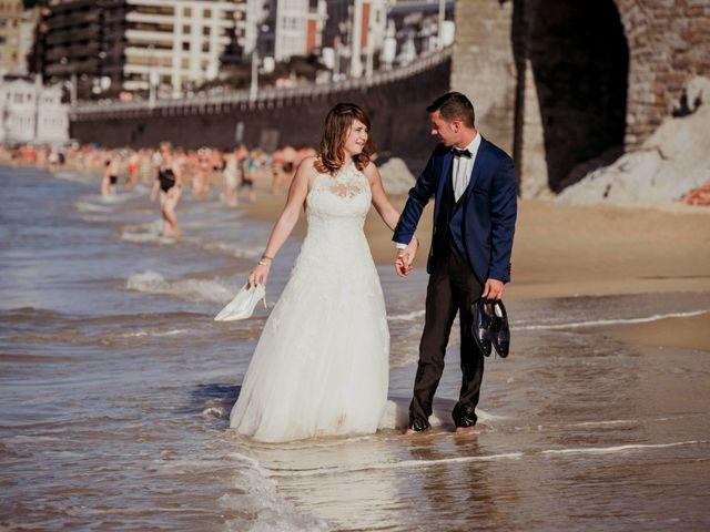 La boda de Pablo y Lucía en Donostia-San Sebastián, Guipúzcoa 601