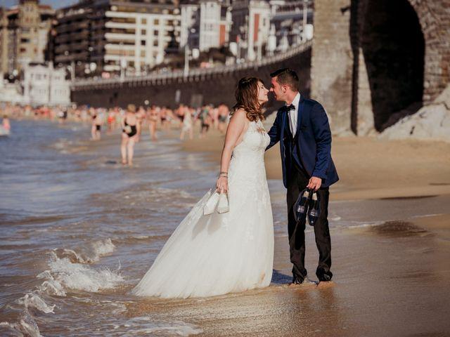 La boda de Pablo y Lucía en Donostia-San Sebastián, Guipúzcoa 602