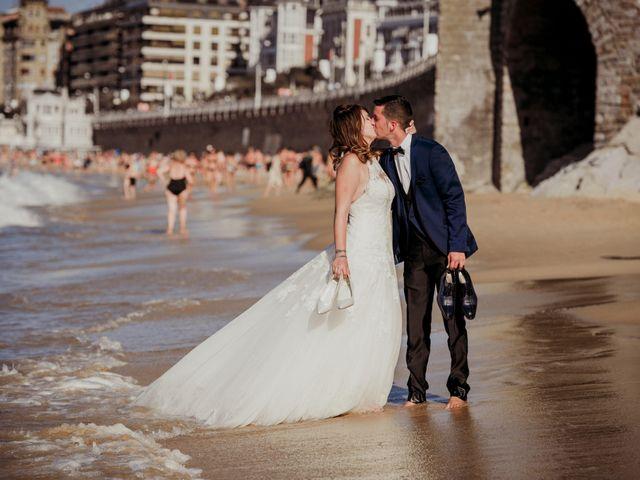 La boda de Pablo y Lucía en Donostia-San Sebastián, Guipúzcoa 604