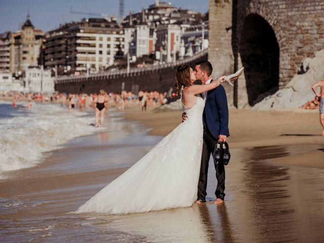 La boda de Pablo y Lucía en Donostia-San Sebastián, Guipúzcoa 605
