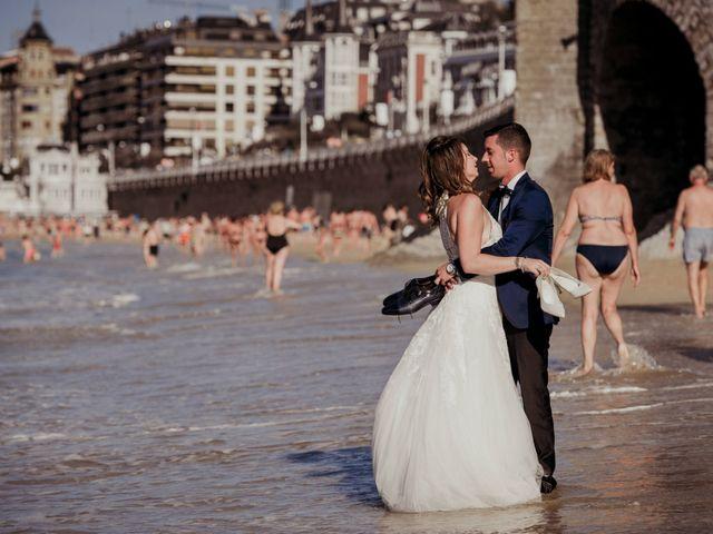 La boda de Pablo y Lucía en Donostia-San Sebastián, Guipúzcoa 608