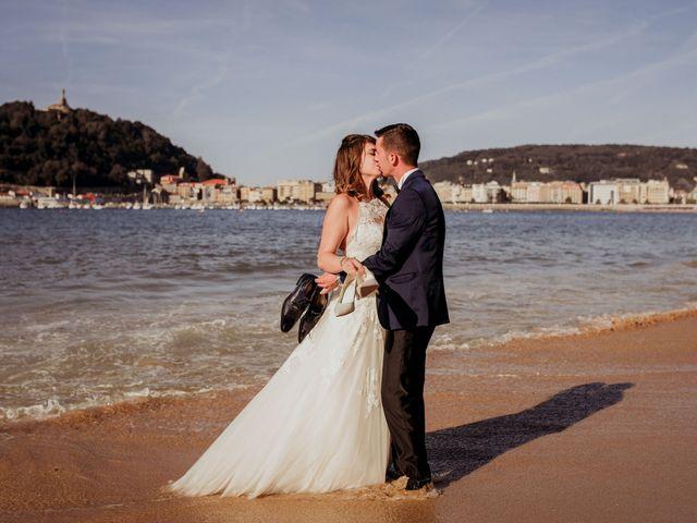 La boda de Pablo y Lucía en Donostia-San Sebastián, Guipúzcoa 611