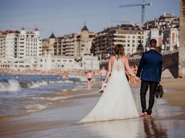 La boda de Pablo y Lucía en Donostia-San Sebastián, Guipúzcoa 612