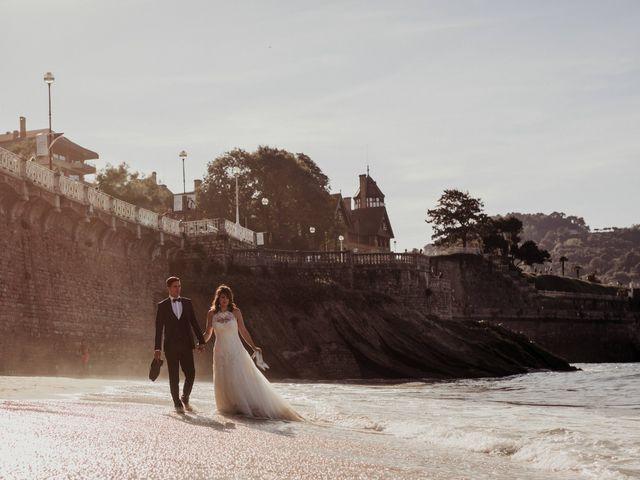 La boda de Pablo y Lucía en Donostia-San Sebastián, Guipúzcoa 613