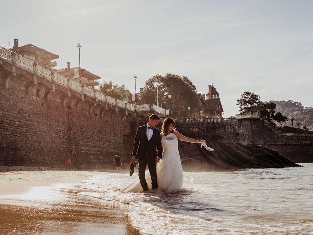 La boda de Pablo y Lucía en Donostia-San Sebastián, Guipúzcoa 614