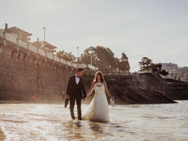 La boda de Pablo y Lucía en Donostia-San Sebastián, Guipúzcoa 615