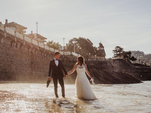 La boda de Pablo y Lucía en Donostia-San Sebastián, Guipúzcoa 616