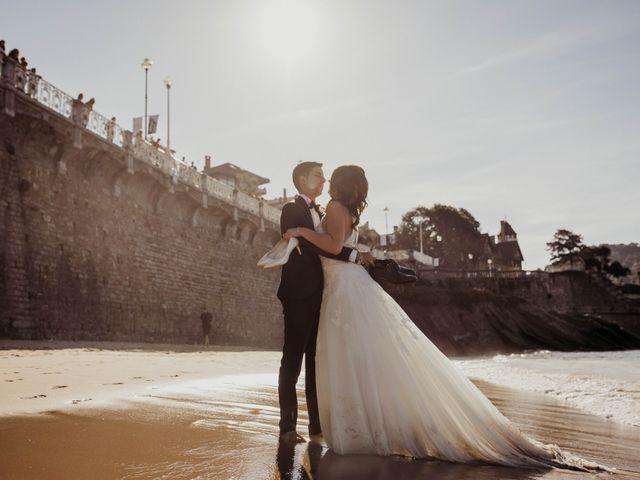 La boda de Pablo y Lucía en Donostia-San Sebastián, Guipúzcoa 619