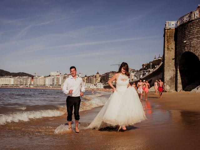 La boda de Pablo y Lucía en Donostia-San Sebastián, Guipúzcoa 621