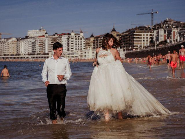 La boda de Pablo y Lucía en Donostia-San Sebastián, Guipúzcoa 626