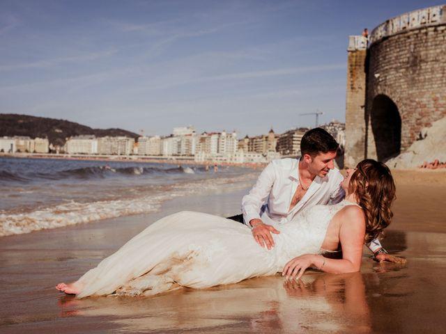 La boda de Pablo y Lucía en Donostia-San Sebastián, Guipúzcoa 638