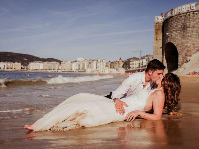 La boda de Pablo y Lucía en Donostia-San Sebastián, Guipúzcoa 641