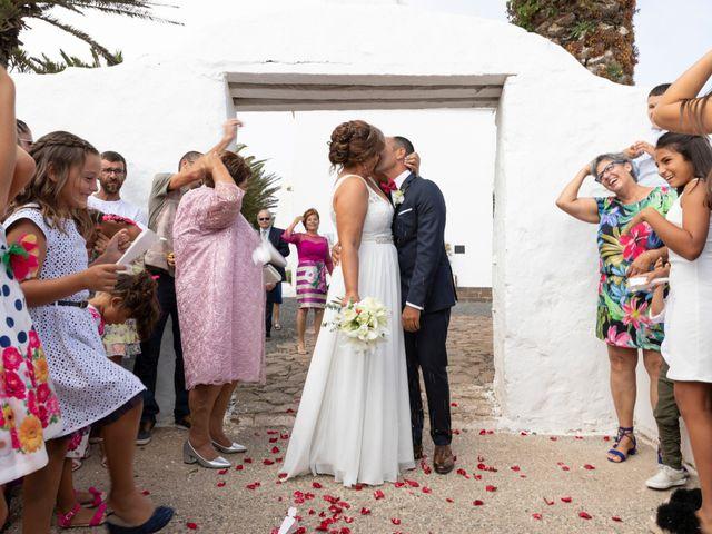 La boda de Ángel y Lucy en San Bartolomé, Las Palmas 9