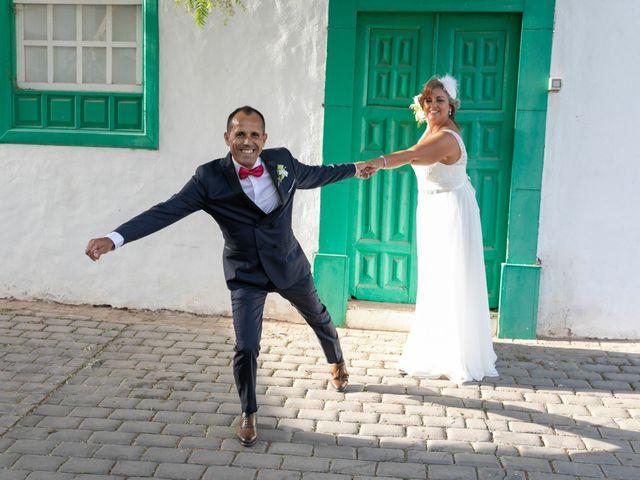 La boda de Ángel y Lucy en San Bartolomé, Las Palmas 12