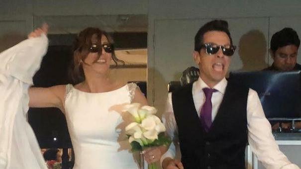 La boda de Daniel y Marga en Sant Boi De Llobregat, Barcelona 1