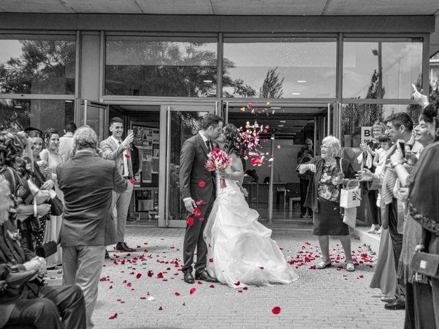 La boda de David y Patricia en Montgat, Barcelona 1