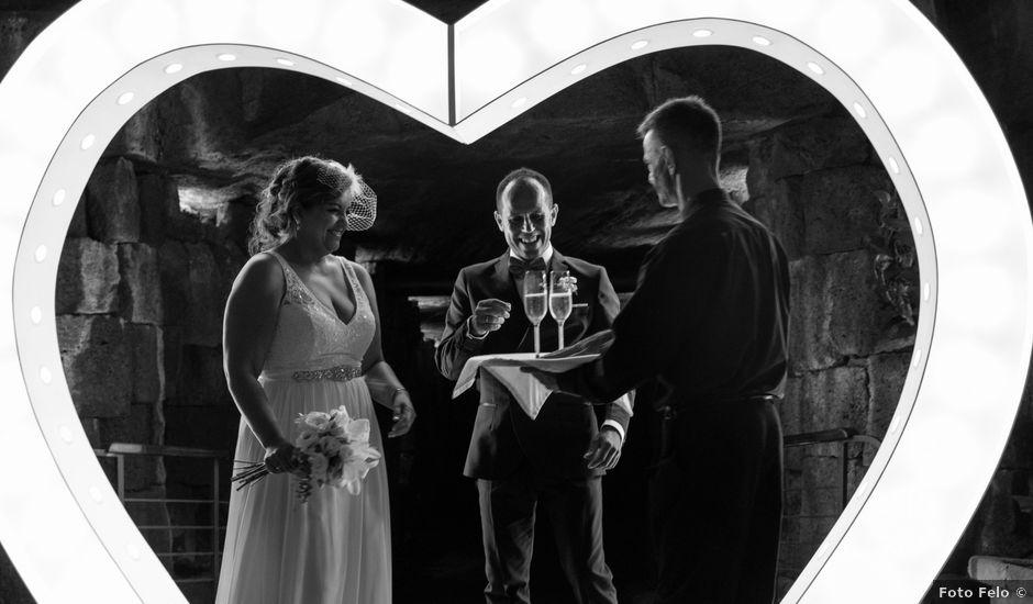 La boda de Ángel y Lucy en San Bartolomé, Las Palmas