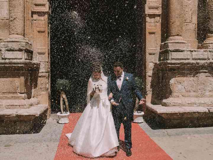 La boda de Isabel y José Manuel