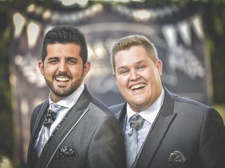 La boda de Alex y Mariano