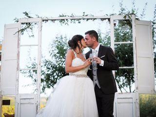 La boda de Ester y Luca
