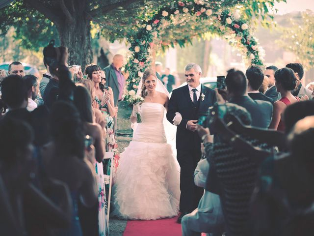 La boda de Daniel y Jessica en Sant Fost De Campsentelles, Barcelona 28