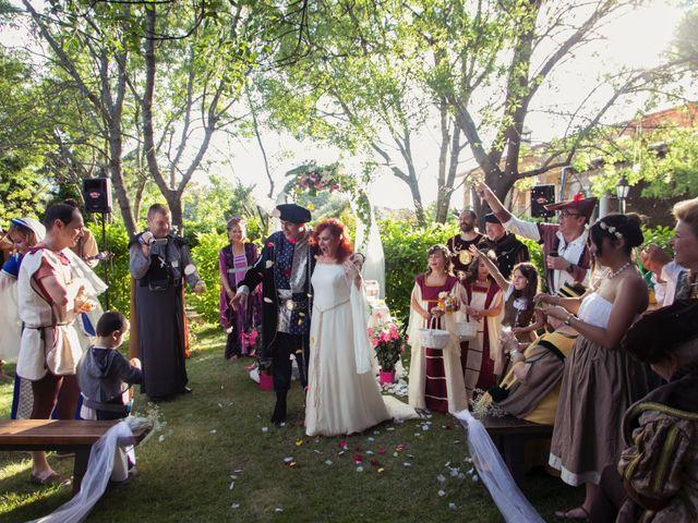 La boda de Pachu y Marta en Navaluenga, Ávila 26
