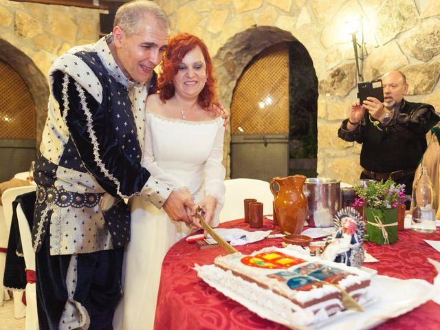 La boda de Pachu y Marta en Navaluenga, Ávila 33
